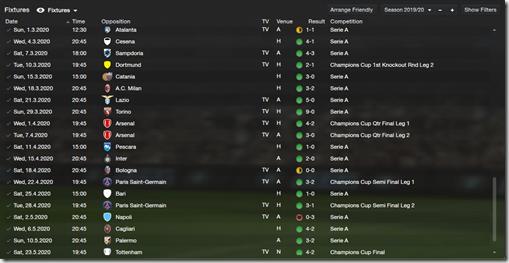 Fixtures 1