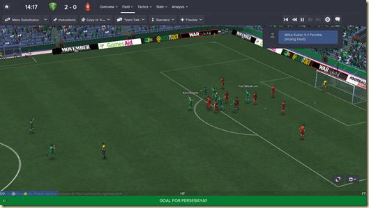 Persebaya v Pro Duta FC_ Field Full
