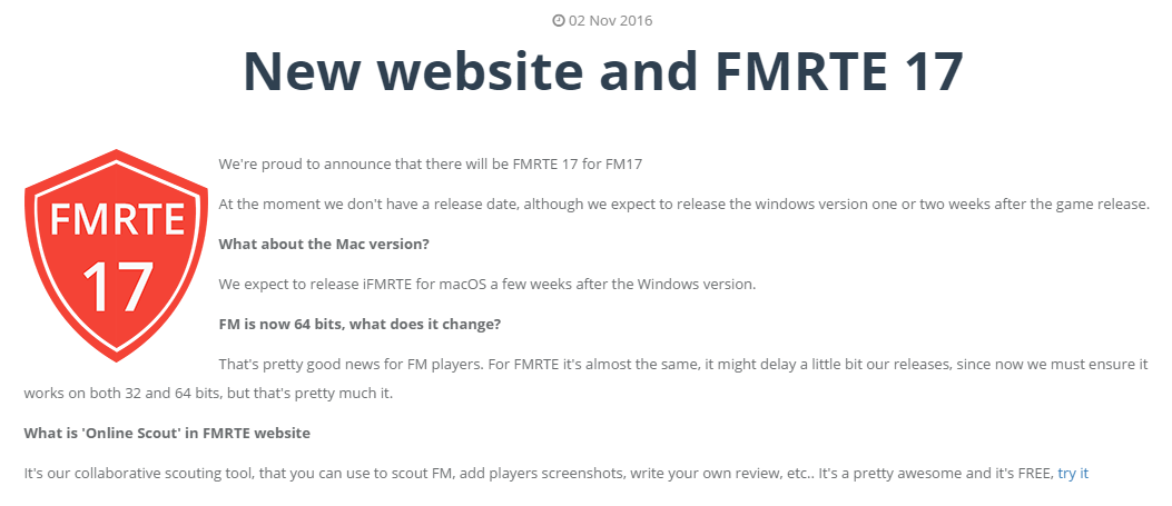 how to use editor fm17